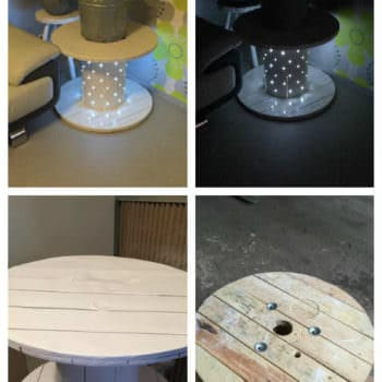 Table Basse Touret / Reel Coffee Table