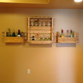 Pallets Wine Rack