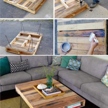 Diy: Easy, Versatile Pallet Coffee Table