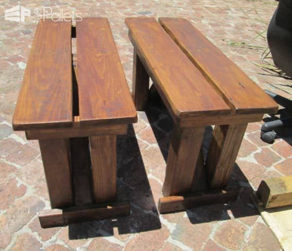 Garden Table, Chairs & Benches From Reclaimed Pallet Wood DIY Pallet Bedroom - Pallet Bed Frames & Pallet Headboards Pallet Desks & Pallet Tables