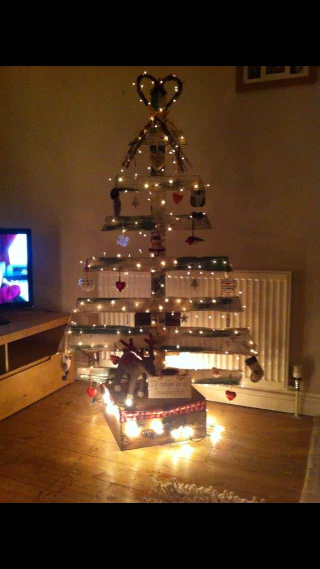 Pallet Christmas Tree Ideas 1001 Pallets