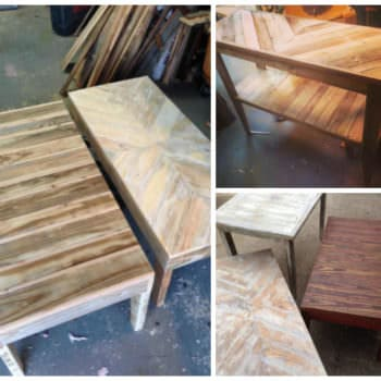 Pallet Coffee Tables & Sofa Table