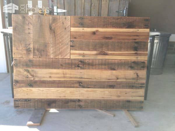 Pallet Flag Pallet Wall Decor & Pallet Painting