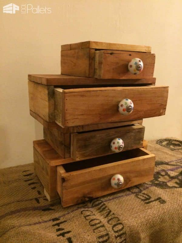 Pallet Jewelry / Trinket Chest Pallet Boxes & Chests