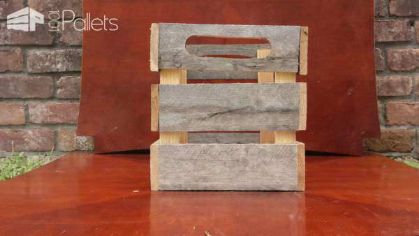 Pallet Rustic Crate Pallet Boxes & Chests