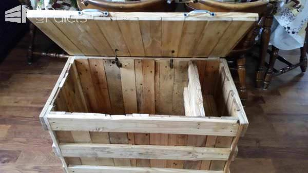 Pallet Toy Box Fun Pallet Crafts for Kids Pallet Boxes & Pallet Chests