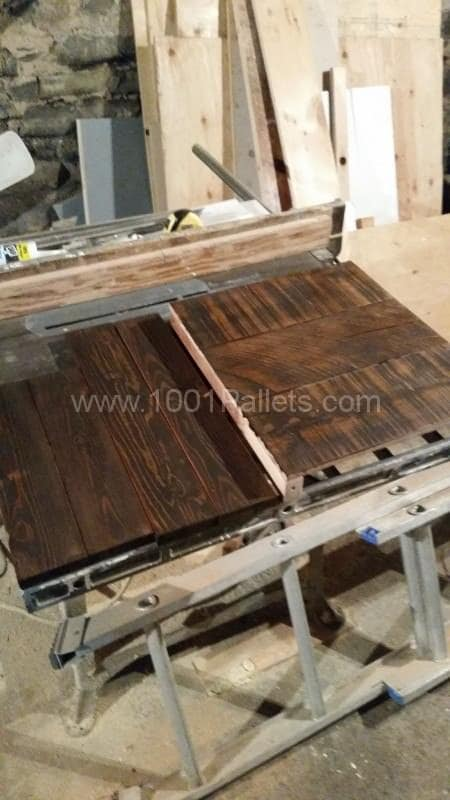 Reclaimed Wood & Pallet Wood Night Table Pallet Desks & Pallet Tables