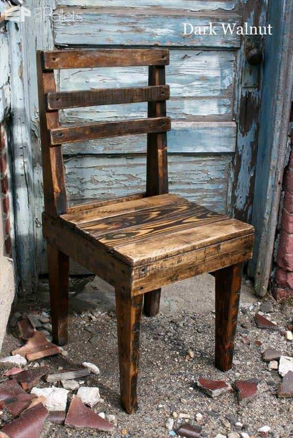 Rustic Wooden Pallet Chairs Pallet Benches, Pallet Chairs & Stools