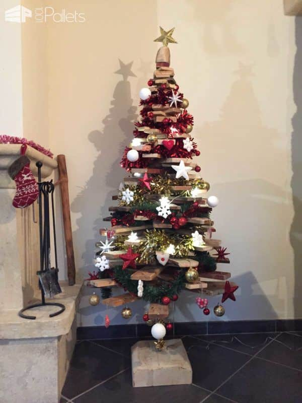 Sapin De Noël En Palette / Pallet Christmas Trees Pallet Home Accessories