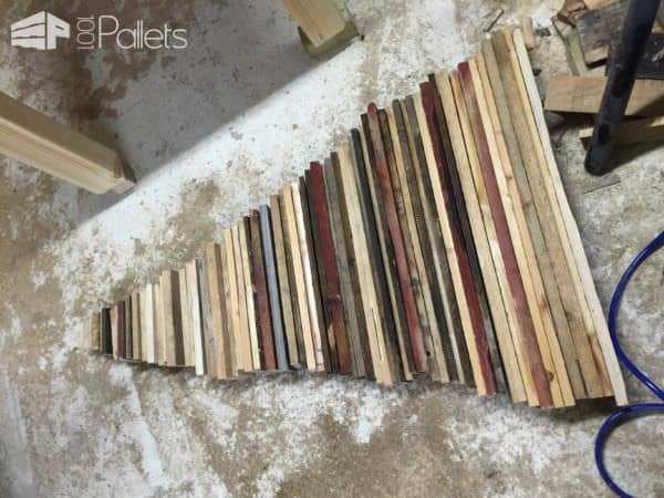 Pallet Christmas Trees Pallet Home Accessories