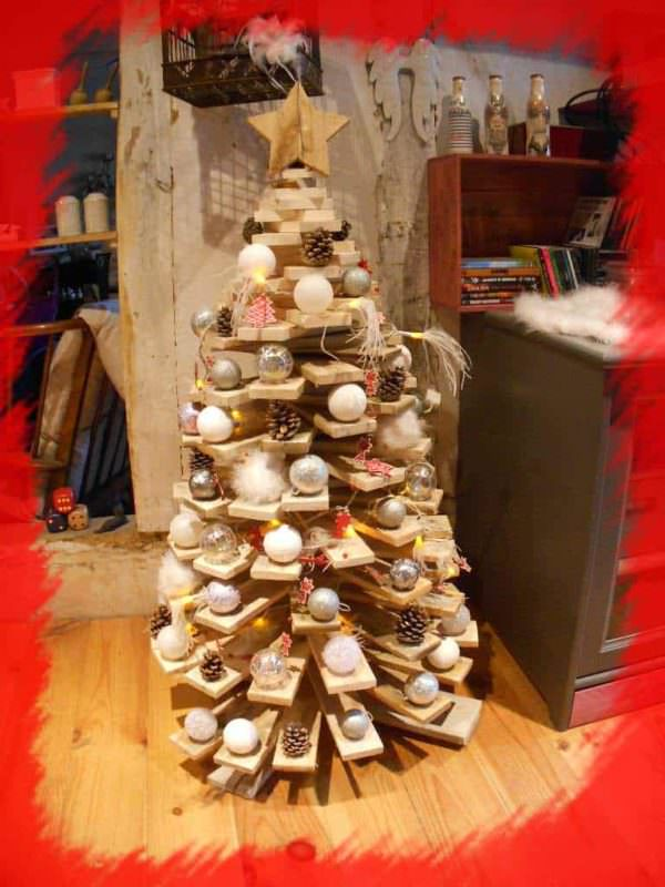 Sapin De Noël En Palettes / Pallets Christmas Trees Pallet Home Accessories