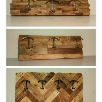 Making Coat Racks with Pallet Wood