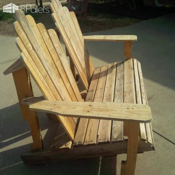 Adirondack Bench Pallet Benches, Pallet Chairs & Stools