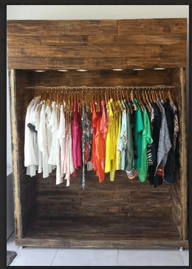 Clothing Cabinet Pallet Cabinets & Wardrobes