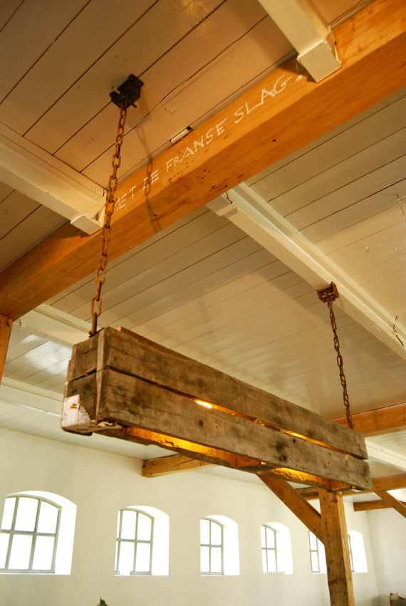 Industrial Style Wooden Pallets Lamp Pallet Lamps & Lights