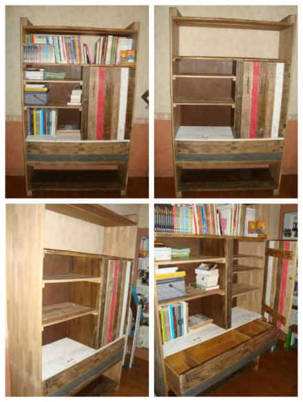 Bookcases Bookshelves Diy Wood Projects 1001 Pallets