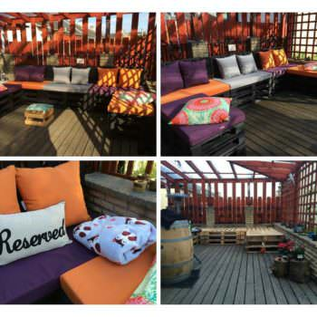 My Spot: Terrace Lounge Made from Repurposed Pallets