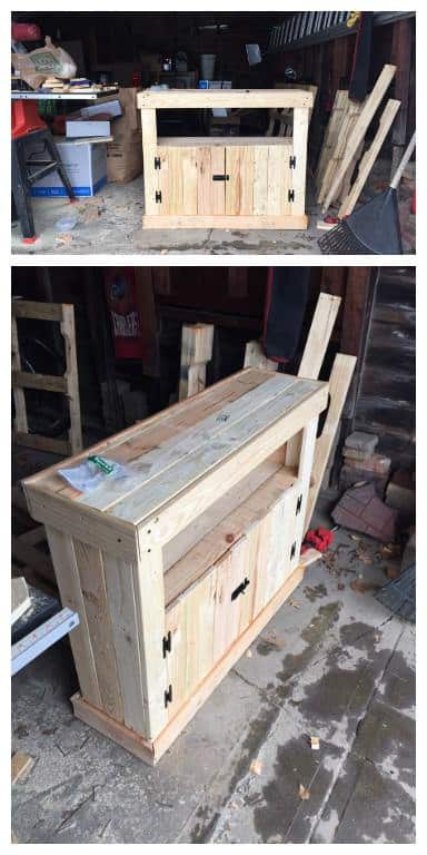 Pallet TV Stand / Cabinet