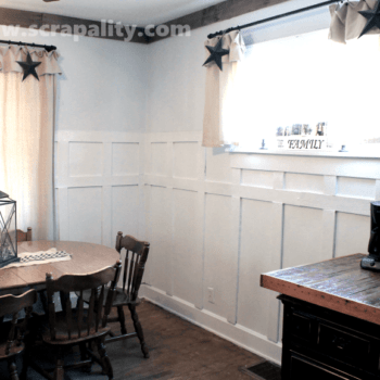 Pallet Wood Wainscoting