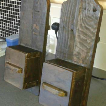 Primitive: Sconces for Candles
