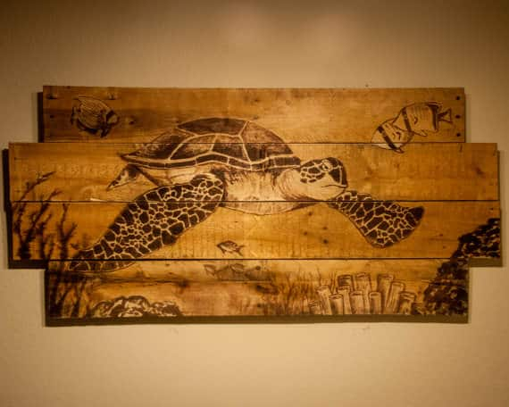 You Have Never Seen Pallet Art Like This Pallet Wall Decor & Pallet Painting