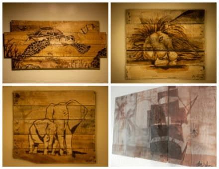 You Have Never Seen Pallet Art Like This