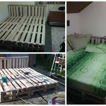 10 Pallets Bed
