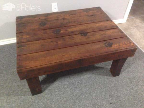 Bear Claw, Pallet Coffee Table Pallet Coffee Tables