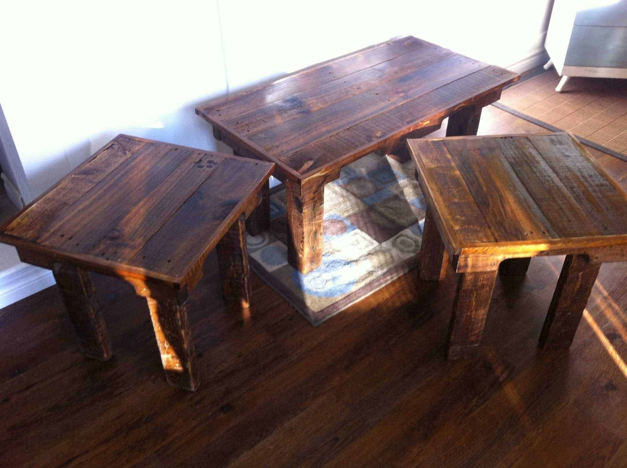 Coffee Table & End Tables • 1001 Pallets