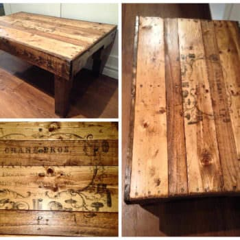 Coffee Table From Upcycled Pallets
