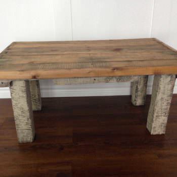 Coffee Table Made From Repurposed Pallets