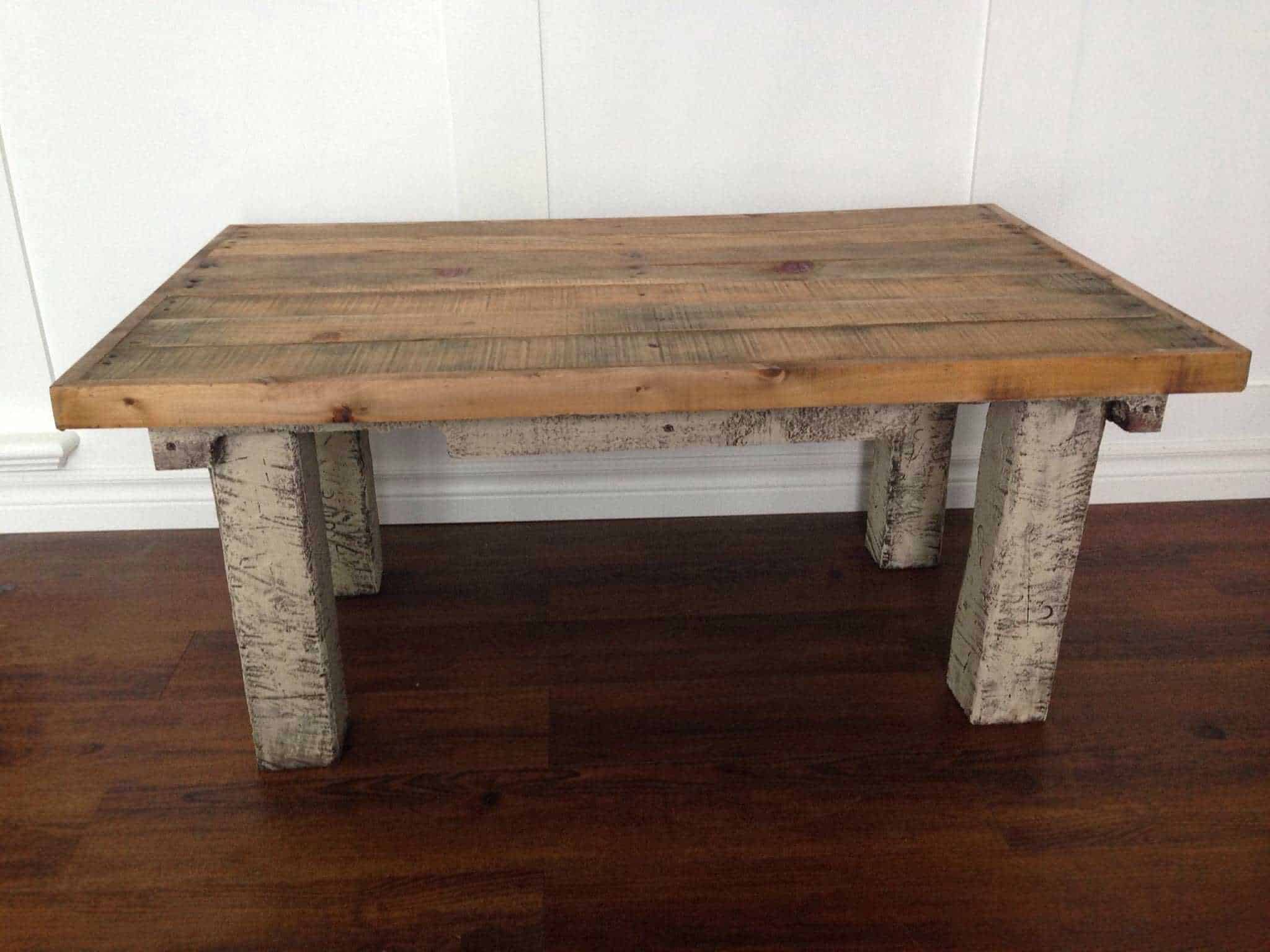 Coffee Table Made From Repurposed Pallets 1001 Pallets