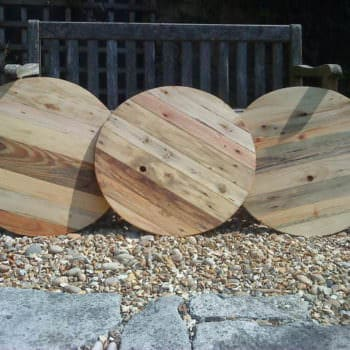 Coffee Tables Made From Upcycled Pallets