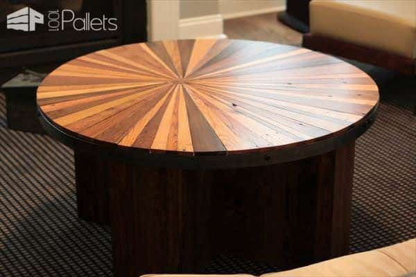 diy-sleek-pallet-and-metal-sunburst-coffee-table