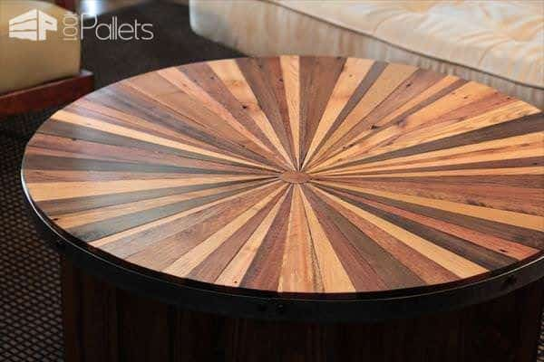sleek-pallet-and-metal-sunburst-coffee-table