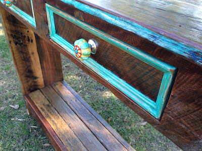 How to Build a Hall Table From Recycled Pallets DIY Pallet Video TutorialsPallet Desks & Pallet Tables