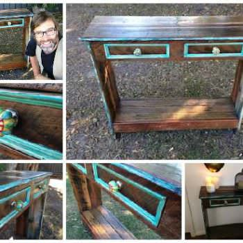 Diy Video Tutorial: How to Build a Hall Table From Recycled Pallets