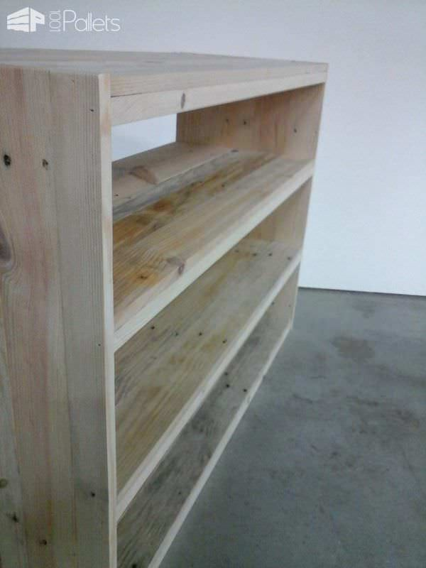 etag re en bois de palette pallet shoes shelf pallet ideas 1001 pallets