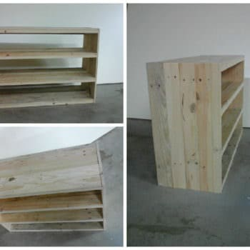 Etagère En Bois De Palette / Pallet Shoes Shelf