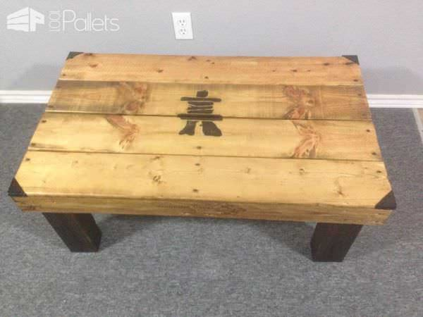 Inukshuk Pallet Coffee Table Pallet Coffee Tables