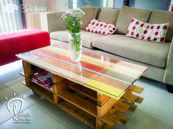 Modular Pallet Coffee Table Pallet Coffee Tables
