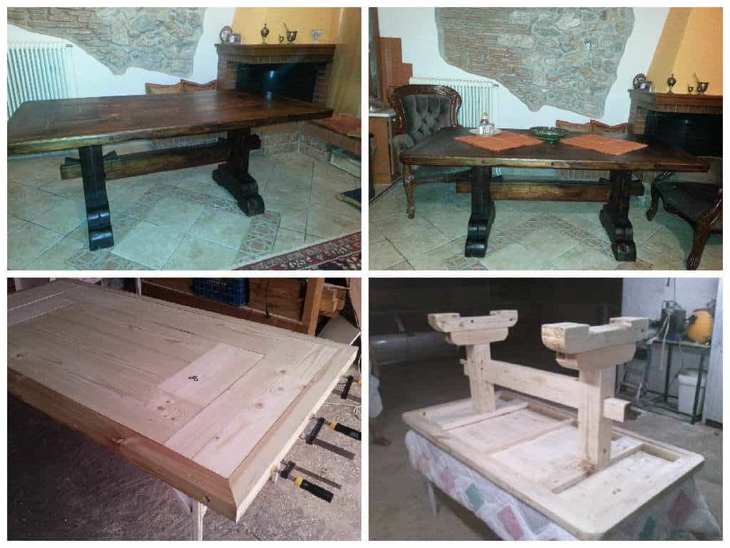 Monastery Coffee Table Made From a Big Wooden Pallet 1001 Pallets