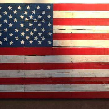 My First Pallet Project: The American Flag
