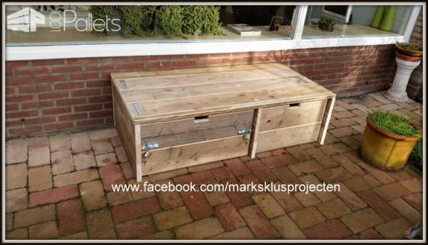 Outdoor Pallet Storage Cabinet Lounges & Garden Sets Pallet Boxes & Chests