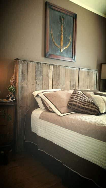 Pallet Bed Headboard DIY Pallet Bedroom - Pallet Bed Frames & Pallet Headboards