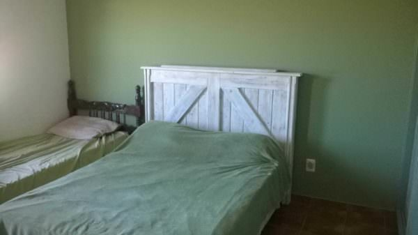 Pallet Bed Headboard From Uruguay Pallets DIY Pallet Bed Headboard & Frame