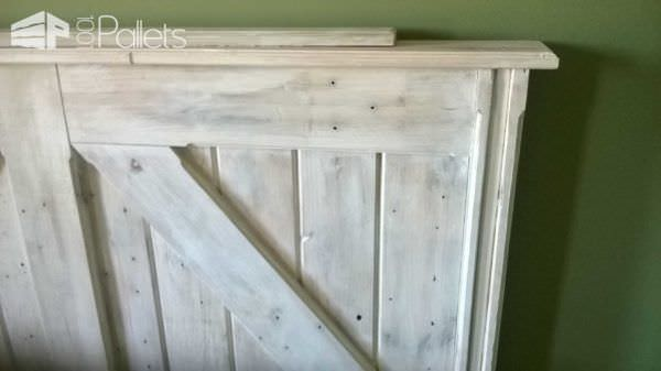Pallet Bed Headboard From Uruguay Pallets Pallet Beds, Pallet Headboards & Frames