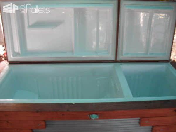Pallet Ice Chest Pallet Cabinets & Wardrobes