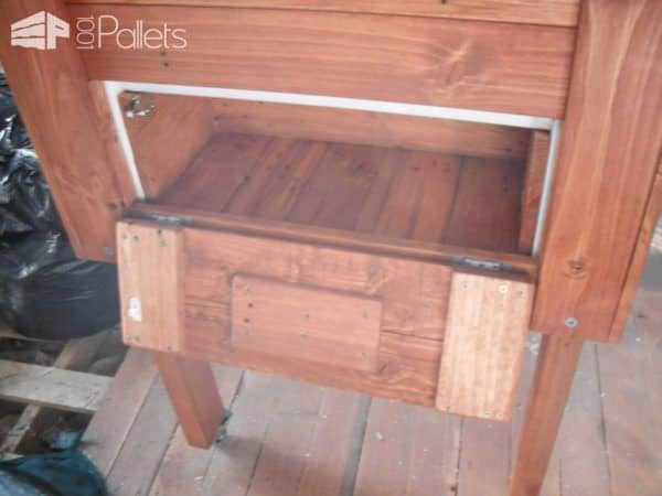 Pallet Ice Chest Pallet Cabinets & Pallet Wardrobes