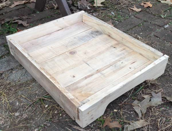 Pallet Serving Tray Pallet Home Accessories